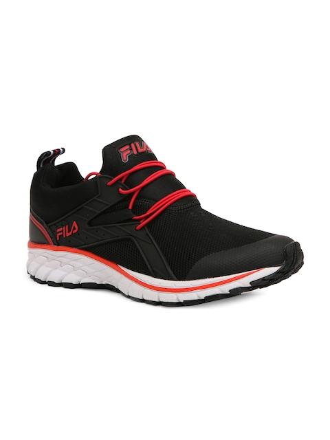 FILA Men Black Running Shoes