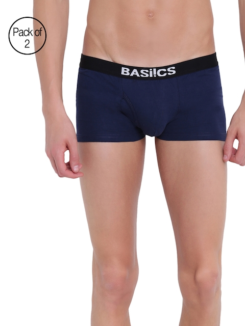 BASIICS by La Intimo Men Pack Of 2 Trunks BCSTR04B0880