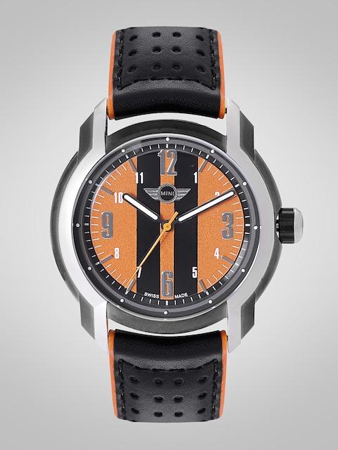MINI Men Orange & Black Analogue Watch MINI62E_HP