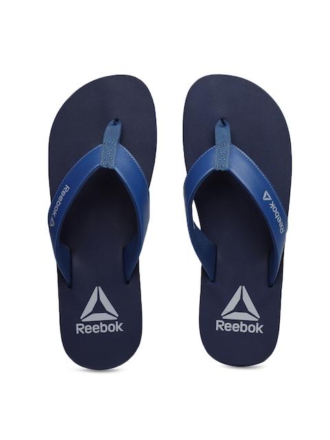 Reebok Men Blue Solid ARUBA Thong Flip-Flops