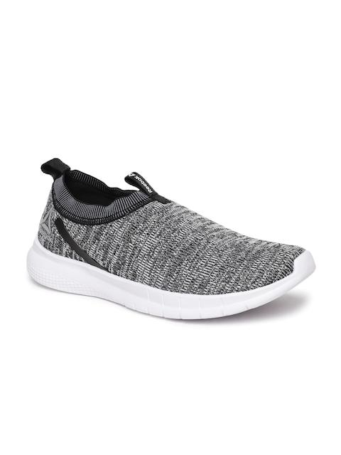 Reebok Men Black & White DELTA SLIP ON Walking Shoes