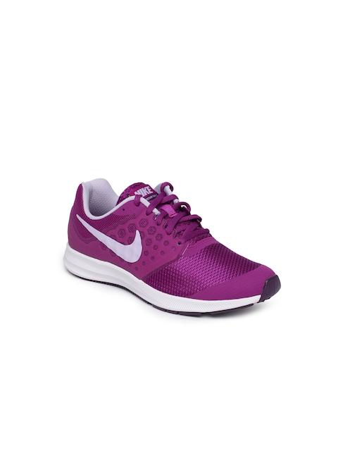 Nike Girls Purple Downshifter 7 Running Shoes