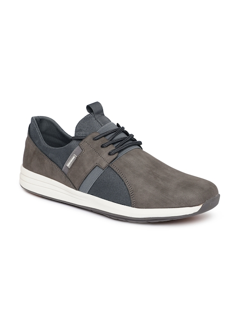 Flying Machine Men Grey Sneakers