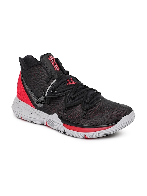 Nike Men Black & Red Kyrie 5 EP Basketball Shoes