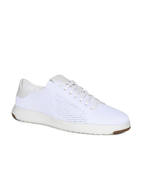 Cole Haan Men White Sneakers