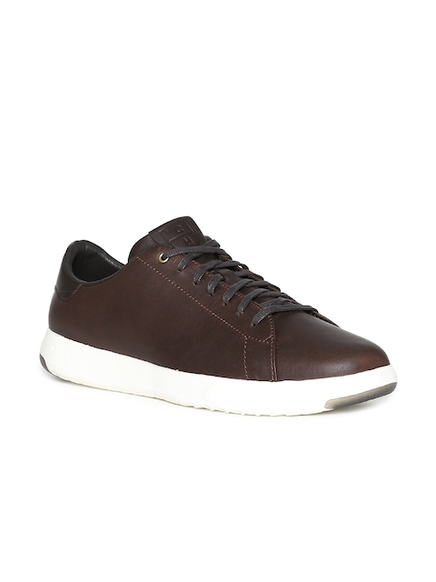 Cole Haan Men Brown Sneakers