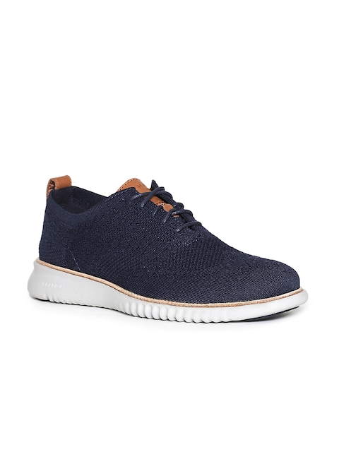 Cole Haan Men Navy Blue Sneakers