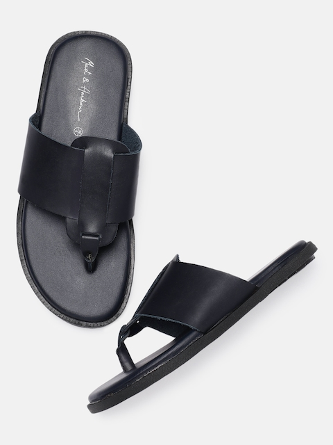 Mast & Harbour Men Navy Blue Sandals