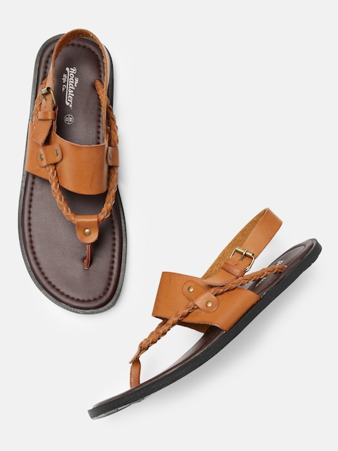Roadster Men Tan Brown Sandals
