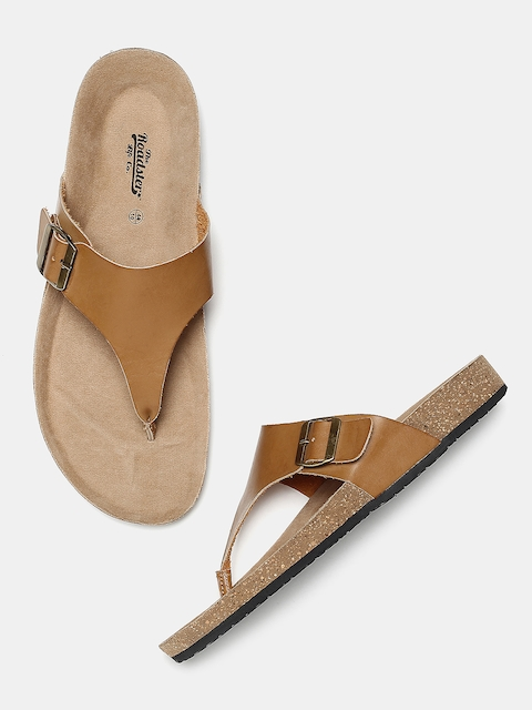 Roadster Men Tan Comfort Sandals