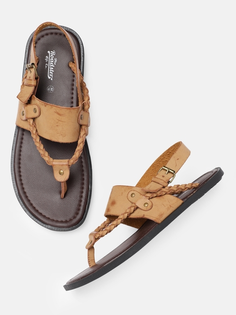 Roadster Men Brown Sandals
