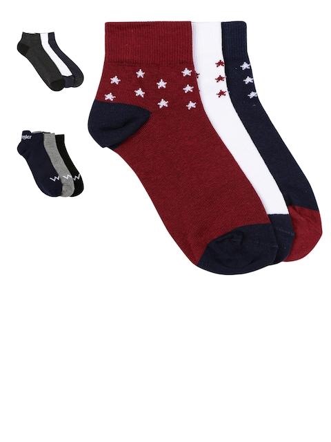 Wrangler Men Pack of 9 Pairs Assorted Socks