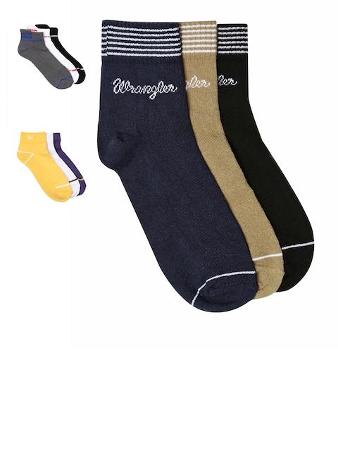 Wrangler Men Pack Of 9 Assorted Socks
