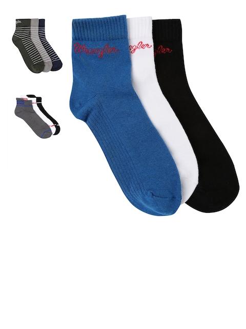 Wrangler Men Assorted Pack of 9 Pairs Socks