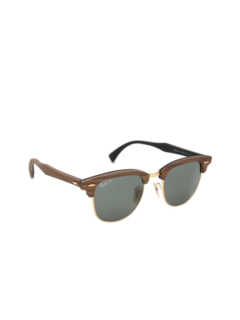 Ray-Ban Men Clubmaster Sunglasses 0RB3016M
