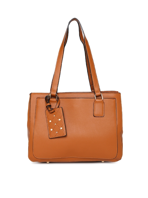 CODE by Lifestyle Tan Brown Solid Shoulder Bag
