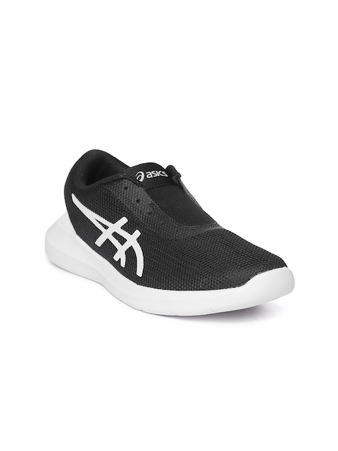 ASICS Women Black Metrolyte II Slip-On Walking Shoes