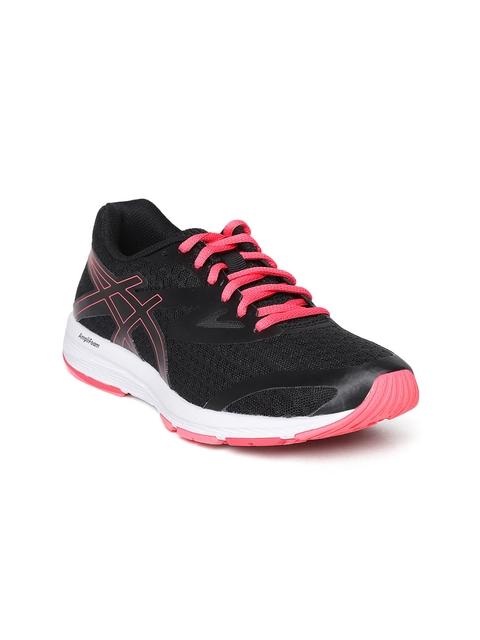 ASICS Women Black Amplica Running Shoes