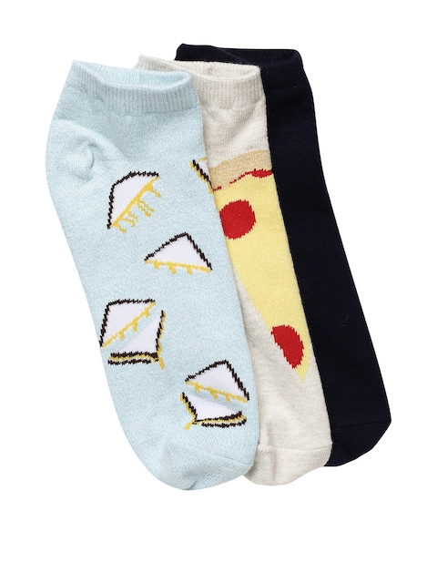 AMERICAN EAGLE OUTFITTERS Women Pack of 3 Printed Socks