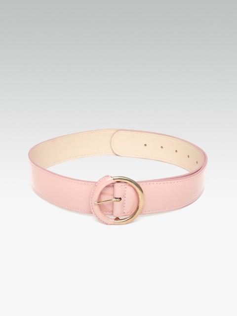 20Dresses Women Pink Solid Belt