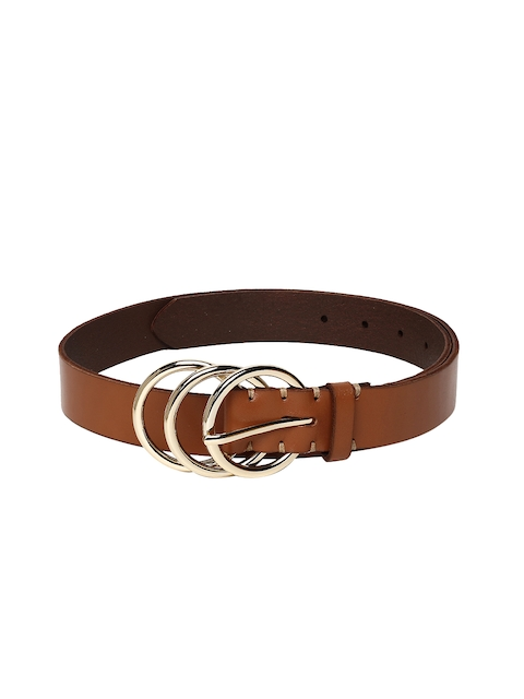AMERICAN EAGLE OUTFITTERS Women Brown Solid Leather Belt