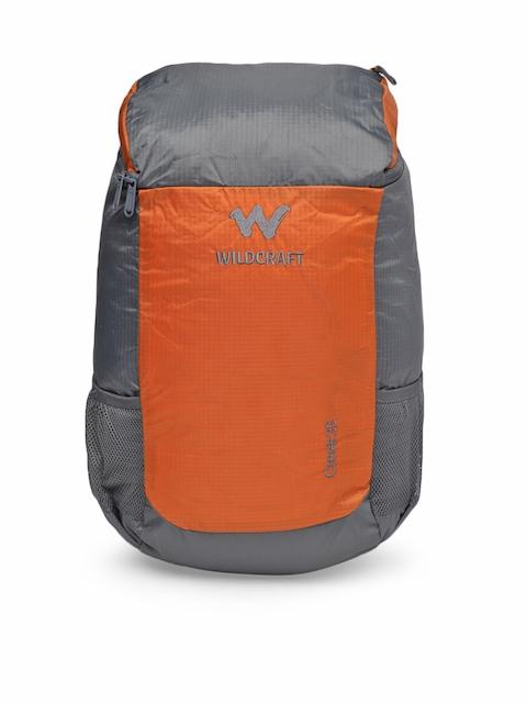 Wildcraft Unisex Orange & Grey Creek 35 Rucksack