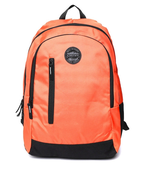 Gear Unisex Orange Solid Backpack