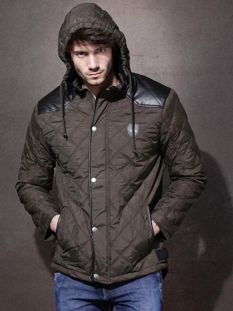 RDSTR Brown Quilted Jacket