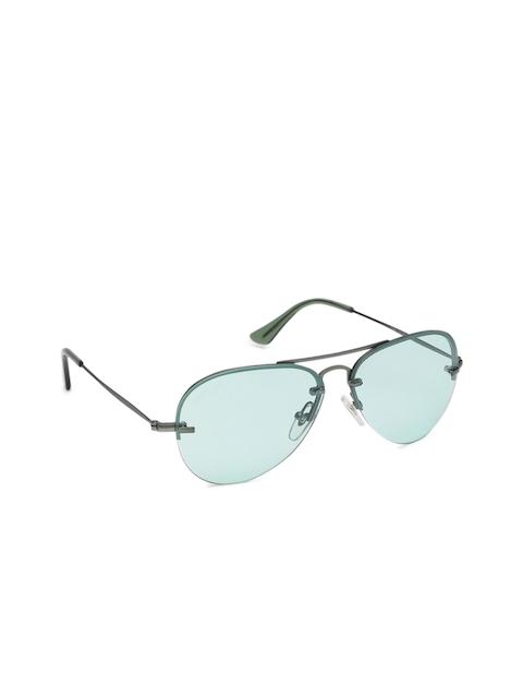 Fastrack Men Aviator Sunglasses M205GR3