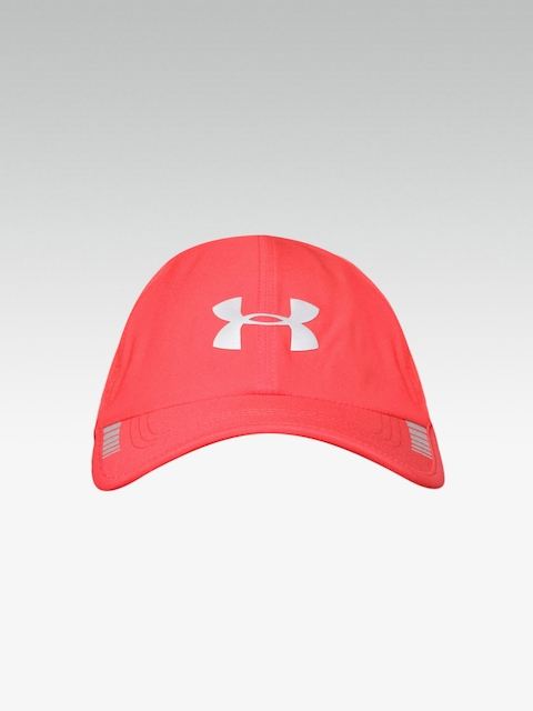 77c7a341ed5 UNDER ARMOUR Men Coral Red Airvent Core Baseball Cap