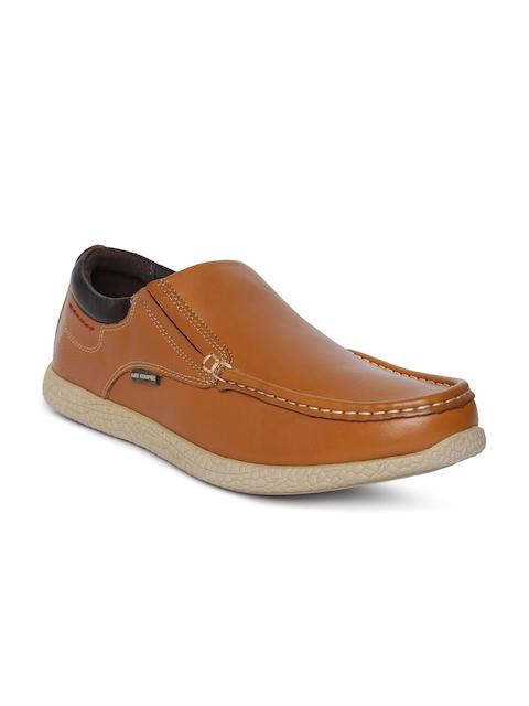 Lee Cooper Men Tan Brown Loafers