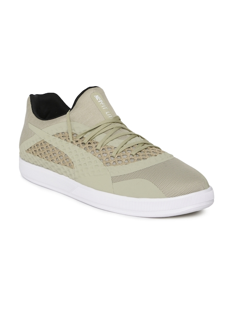 Puma Men Beige 365 NETFIT Lite Teamsport Shoes