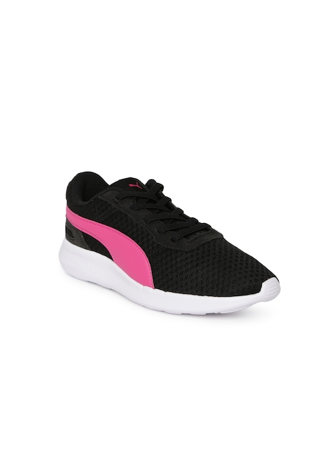 Puma Girls Black ST Activate AC PS Running Shoes