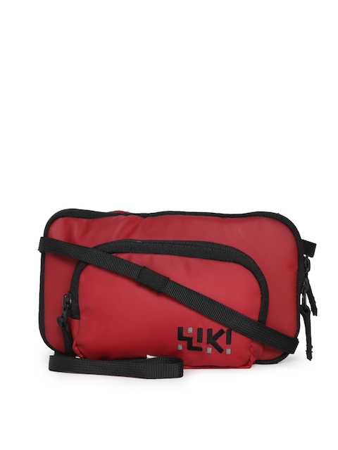 Wildcraft Women Red Wiki Tuck-it Sling Bag  available at myntra for Rs.329