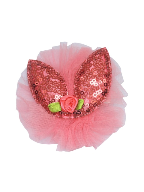 Stoln Girls Pink Bunny Sequins Claw Clip