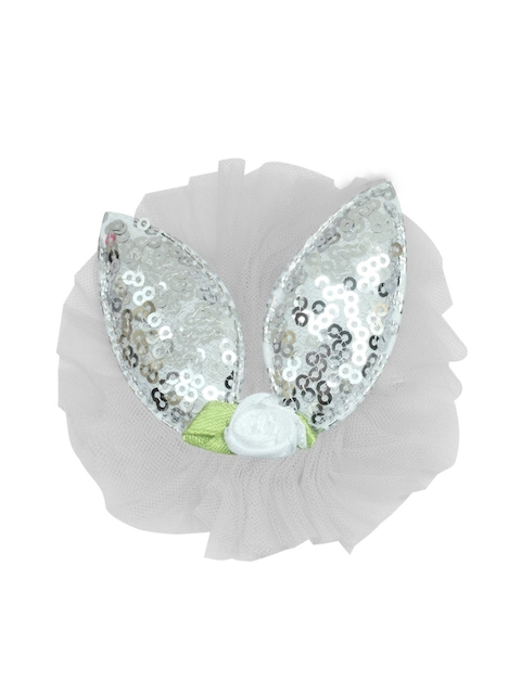 Stoln Girls White Bunny Sequins Claw Clip