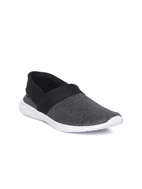 Reebok Women Grey & Black Astroride Slip-On Walking Shoes