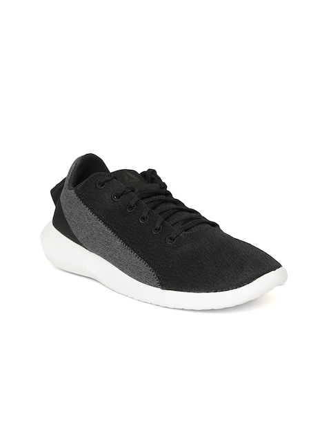 Reebok Women Black & Charcoal Grey ARDARA Walking Shoes