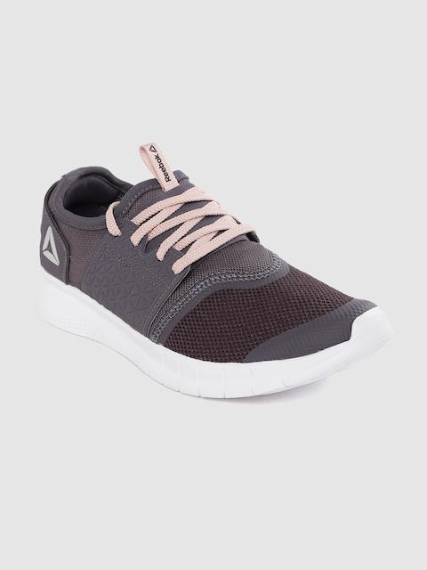 Reebok Women Grey Hurtle Walking Shoes