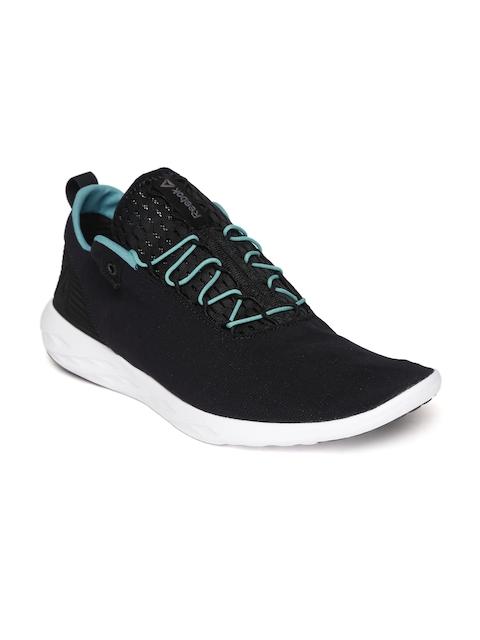 Reebok Men Black Astro Flex & Fold Walking Shoes