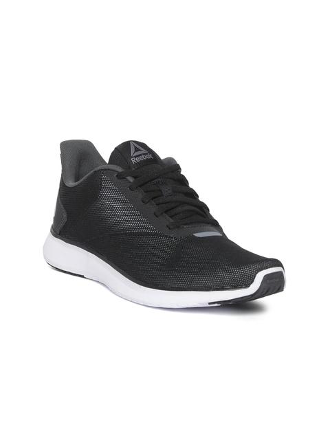 Reebok Women Black Textured Instalie Lux Running Shoes