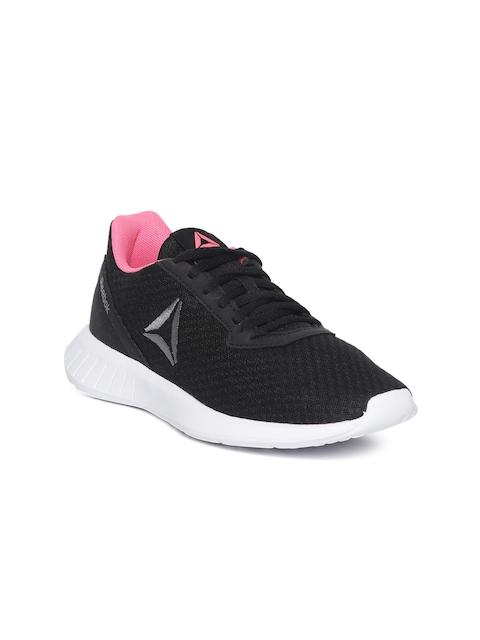 Reebok Women Black Textured Lite Running Shoes