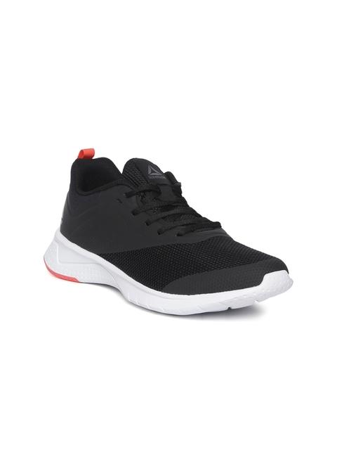 Reebok Women Black Print Lite Rush 2.0 Running Shoes