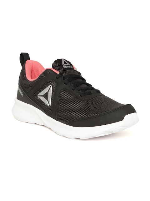 Reebok Women Black Quick Motion Running Shoes