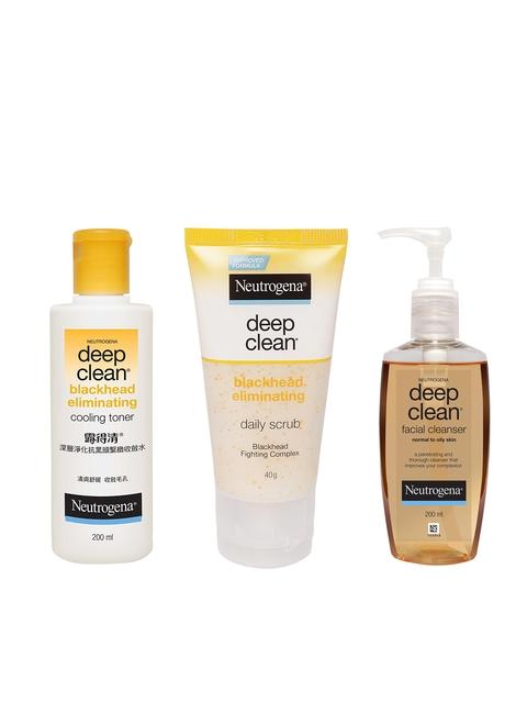 Neutrogena Set Of 3 Skin Care Products