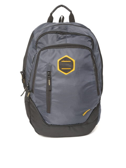 Gear Unisex Navy Patterned Backpack