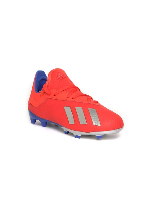 ADIDAS Boys Red X 18.3 Firm Ground Football Shoes