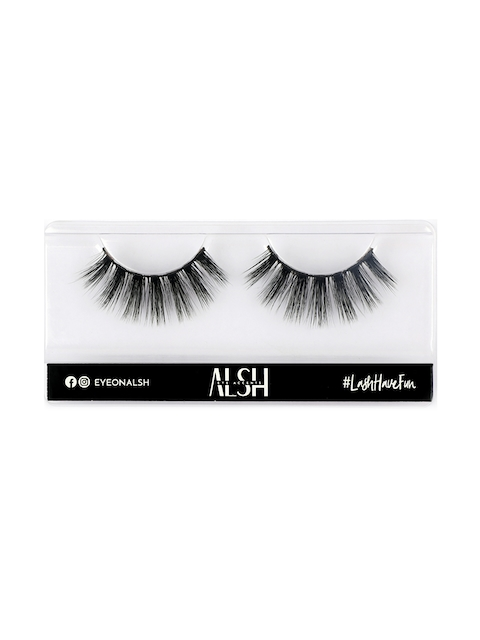 ALSH Women Black Drama Length & Volume Premium 3D Faux Mink Lashes D303