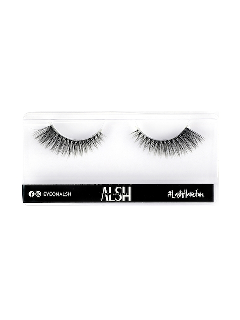 ALSH Women Black Clear Band and Volume Premium 3D Faux Mink Lashes CB513