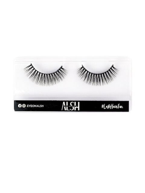 ALSH Women Black Natural Premium 3D Faux Mink Lashes N204